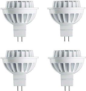 Philips LED 461509 Bright White 50 Watt Equivalent MR16 LED Light Bulb, 4 Pack, 4-Pack, 4 Piece