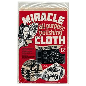 "Miracle Cloth All Purpose Polishing 6"" x 9"" Cloth"