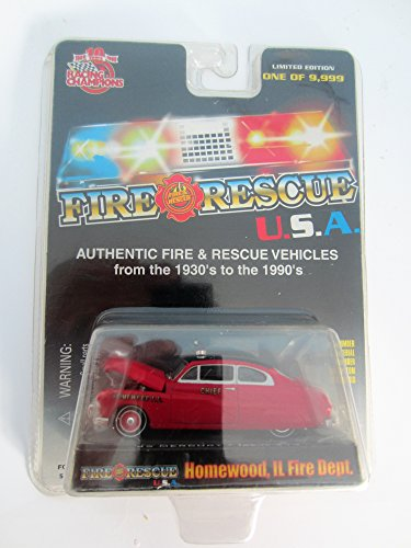 Racing Champions Fire & Rescue USA 1949 Mercury Homewood ...