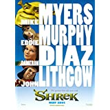 SHREK MOVIE POSTER 2 Sided ORIGINAL 27x40 MIKE MYERS