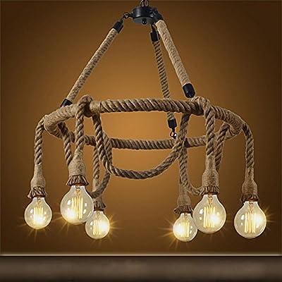 Lámpara Colgante Industrial Vintage Retro Edison Náutica ...