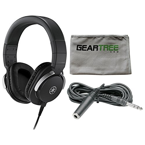 Yamaha HPH-MT8 Headphones Black w/Cleaning Cloth and for sale  Delivered anywhere in USA