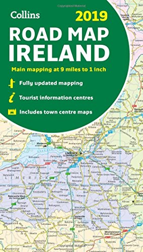2019 Collins Road Map Ireland...