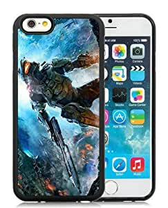 Hot Sale iPhone 6 TPU Screen Case ,Halo The Master Chief Collection Black iPhone 6 4.7 Inch TPU Unique And Popular Designed Phone Case