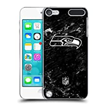 Official NFL Marble 2017/18 Seattle Seahawks Hard Back Case for Apple iPod Touch 4G 4th Gen