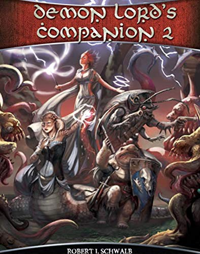 Shadow of the Demon Lord: Demon Lord's Companion 2 (SDL1732) (Jack Of Shadows)