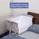 Baby Bassinet,RONBEI Bedside Sleeper,Baby Bed to