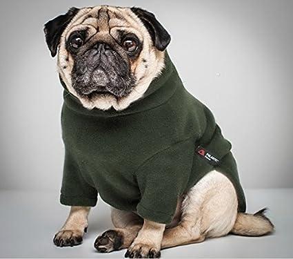 Amazon.com  Equafleece Water Repellent Pug Sweater (16 Pug