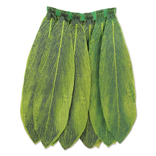 Beistle 60030 Leaf Skirt Green