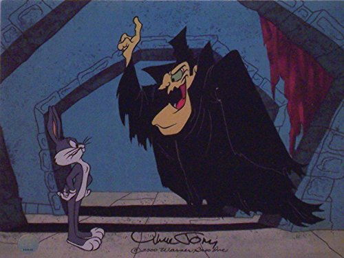 Chuck Jones Artwork Bugs Bunny in Transylvania 6-5000 (2000). Ltd Print Matted from Looney Tunes
