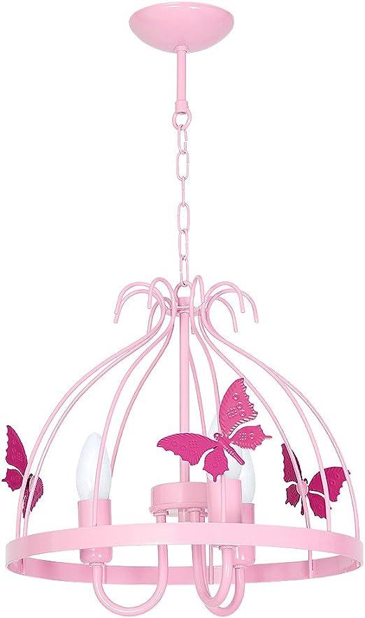 Deckenlampe Deckenleuchte MOTYL KLATKA 3 Rosa