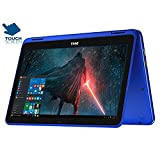 Dell 2017 Newest Premium Dell Inspiron 11.6' Touchscreen 2 In 1 Laptop Pc Intel Celeron N3060 Dual-Core Processor Up To 2.48 Ghz ,Windows 10,Blue