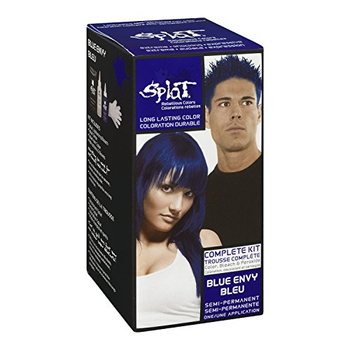 Splat Blue Hair Dye | www.pixshark.com - Images Galleries