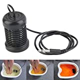 E-Greetshopping Detox Foot Bath Arrays Round Stainless Steel Array Aqua Spa Ionic Cleanse Ion