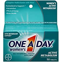 One-A-Day Womens Active Metabolism Complete Multivitamin Tablets 50 count