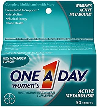 One-A-Day Womens Active Metabolism Multivitamin Tablets