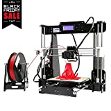 EarMe Anet A8 3D Desktop Acrylic LCD Screen Printer Prusa i3 DIY High Accuracy Self Assembly(Not included Filament)