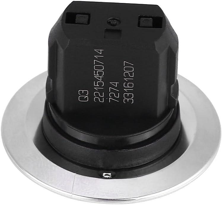 Bouton poussoir d\arr/êt de d/émarrage sans cl/é Interrupteur d\allumage du moteur pour Mercedes 2215450714 Argent bouton poussoir d/émarrage Interrupteur d\allumage du moteur