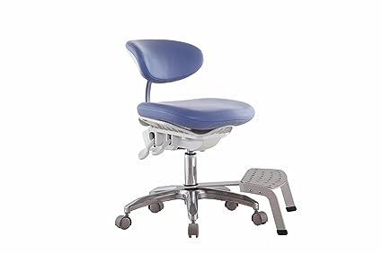 Zgood pu tessuto del pedale dinamica sgabello sedia mobile design