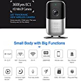 Bellcam Home Security Camera, Wifi IP Camera, Wireless Surveillance System, 1080P FHD Panoramic Baby Monitor with Night Vision Motion Detection Two-way Audio 165 Degree Wide Angle Lens (1)