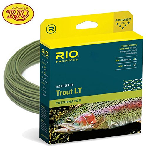 RIO Fly Fishing Fly Line Trout Lt Dt5F Fishing Line, Sage