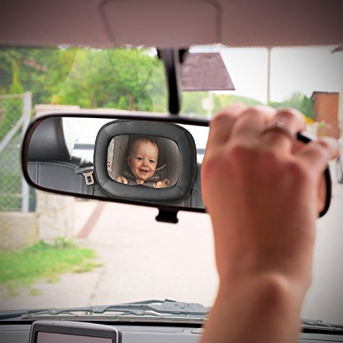 Amazon LARGE Baby Car Mirror By Everest
