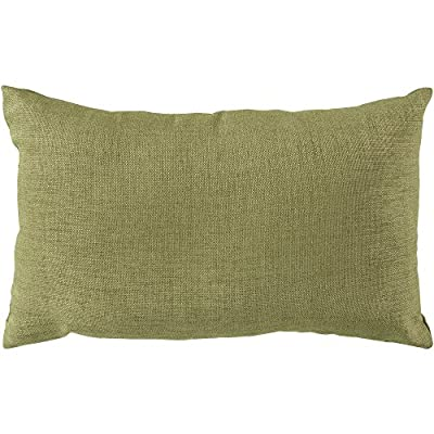 Surya ZZ429-1320 Indoor/Outdoor Pillow, 13-Inch by 20-Inch, Sea Foam - Indoor/Outdoor Pillow Features UV protection to prevent fading, mold/mildew resistant Designed by Surya - patio, outdoor-throw-pillows, outdoor-decor - 51TIbdLdR8L. SS400  -