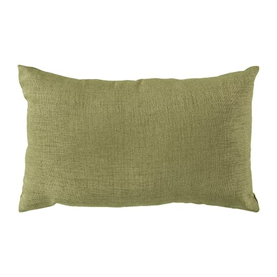 Surya ZZ429-1320 Indoor/Outdoor Pillow, 13-Inch by 20-Inch, Sea Foam - Indoor/Outdoor Pillow Features UV protection to prevent fading, mold/mildew resistant Designed by Surya - patio, outdoor-throw-pillows, outdoor-decor - 51TIbdLdR8L. SS570  -