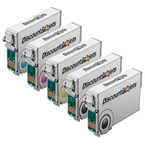 JS 5p BLACK COLOR 124 Set T1241 ink Cartridge for Epson Stylus NX420 NX124 NX430