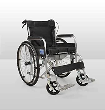 Silla ruedas plegable cuatro frenos accionada a mano para ...