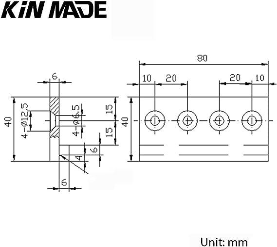 KINMADE - Conector de pista para puerta corredera: Amazon.es: Bricolaje y herramientas