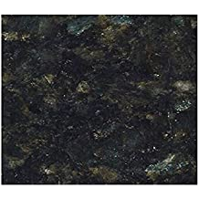 "Countertops: Granite Black Peel and Stick Vinyl 36"" W x 144"" L"