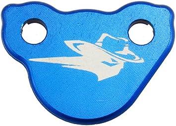Outlaw Racing Billet Front Master Cylinder Reservoir Brake Cap Blue CR CRF KX KXF RM RMZ YZ YZF WR