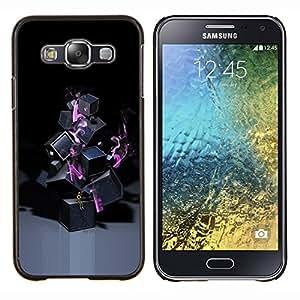 For Samsung Galaxy E5 E500 Case , Resumen de Lonely- Diseño Patrón Teléfono Caso Cubierta Case Bumper Duro Protección Case Cover Funda