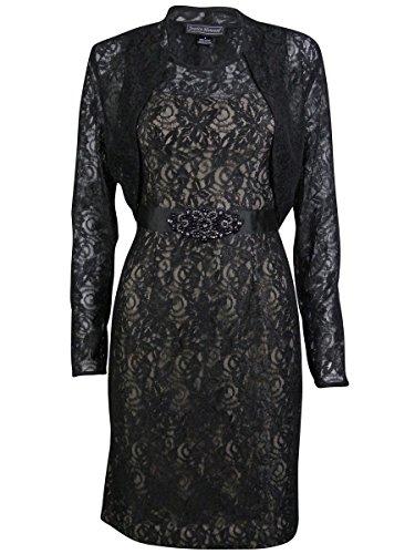 Jessica Howard Beaded Jacket Dress - 6