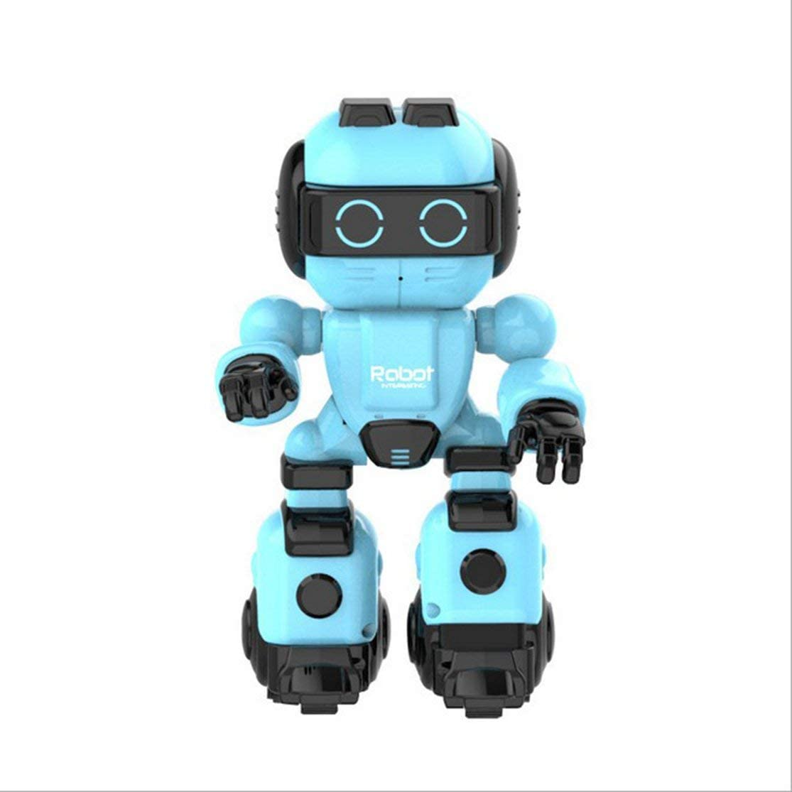 LouiseEvel215 Mando a Distancia para niños Inteligente Puzzle Story Dancing Cute Pet Companion Robot Boy Girl Toy Máquina de educación temprana: Amazon.es: Hogar