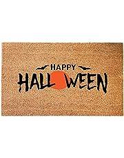 Halloween Doormat Blanket Welcome Home Front Door Decorations, Halloween Doormat Pumpkin, Decor Door Mat Bottom Indoor Outdoor Carpet