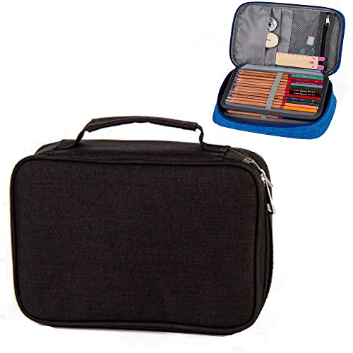 Hard Pen Pouch Bag Box Stationery Pencil Case,Handy Multi-La