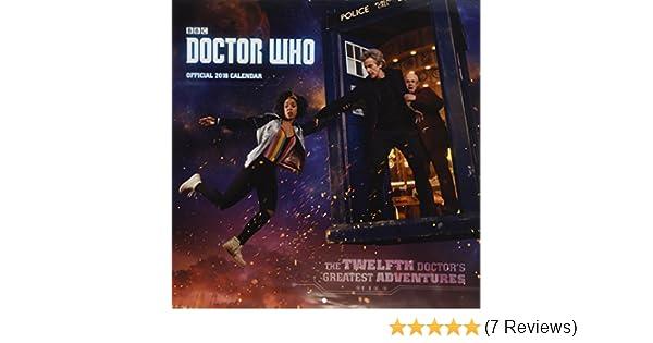 Doctor Who Official 2018 Calendar Square Wall Format Calendar