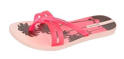 Ipanema Brasil Flip Print 2016 Damen Flip Flops, Pink, Größe 38