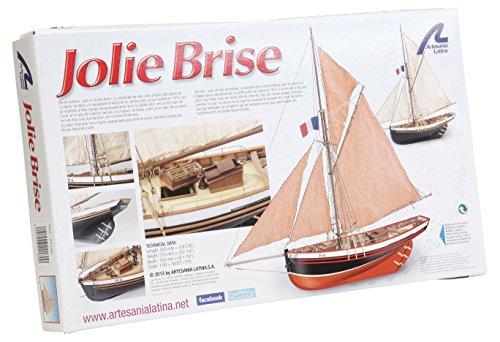 [Artesania Latina Jolie Brise 22180 Model Ship Kit 1:50] (Artesania Latina Model Boats)