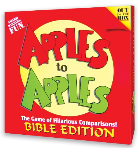 Apples To Apples: Bible Edition ()