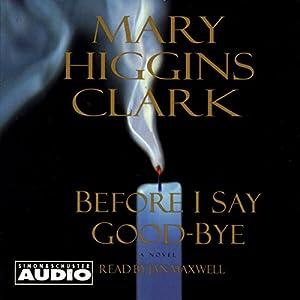 Before I Say Good-Bye Audiobook