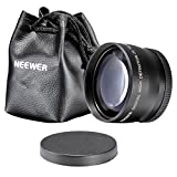 Neewer 58mm 2X Telephoto Lens for Canon, Nikon, Olympus, Sony, Pentax, Samsung and Other DSLR Camera Lenses with 58MM Filter Thread