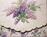Carol's Rose Garden Summer Lilacs Blank 10 Card Set Portfolio