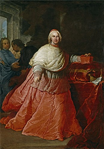 Oil Painting 'Procaccini Andrea Cardinal Borja Ca. 1721 ' Printing On Polyster Canvas , 12 X 17 Inch / 30 X 44 Cm ,the Best Laundry Room Decoration And Home Artwork And Gifts Is This Vivid Art Decorative Canvas Prints]()