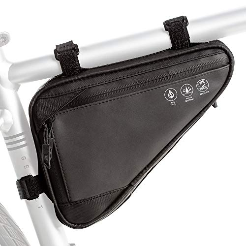 Bicycle Bike Handlebar Cycling 600D Oxford Front Frame Tool Pouch Top Tube Bag