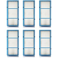 Replacement HEPA Filter Compatible With Holmes AER1 Total Air For Purifier HAP242-NUC, 6 Filters