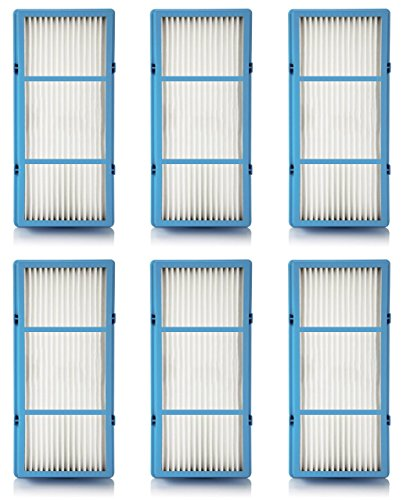 Nispira Replacement HEPA Filter For Holmes AER1 Series Total Air Filter, HAPF30AT For Purifier HAP242-NUC, 6 Filters (Best Type Of Air Purifier)