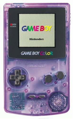 Game Boy Color Atomic Purple product image